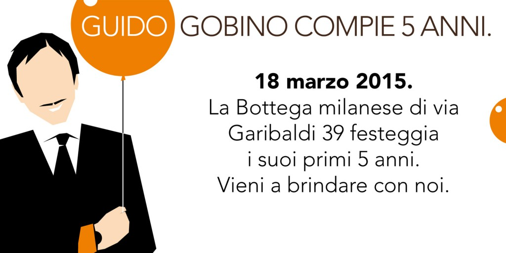 """Our Milan """"Bottega"""" is celebrating its first 5 years"""