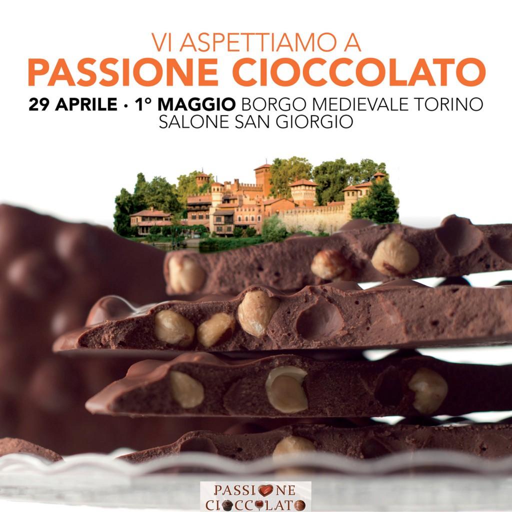 Dal 29 aprile saremo a Passione Cioccolato, Torino.